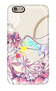 First-class Case Cover For Iphone 6 Dual Protection Cover Anime - Touhou
