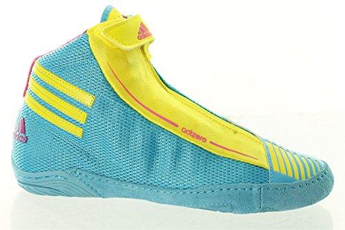 adidas Ringerschuhe adizero Sidney cyan/lemon G62599