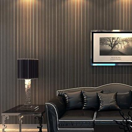 Carta Da Parati Wall Paper Wallpaper Pittura Murale Righe Verticali Scure Wallpaper Wallpapers Fondo Fondo Di Schermo Amazon It Casa E Cucina