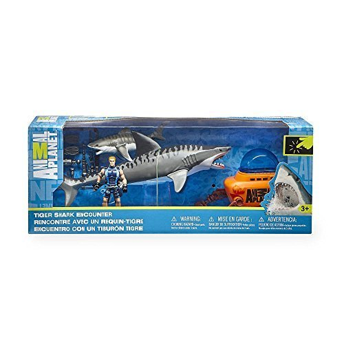 Shark Cage - Animal Planet Tiger Shark and SubmarinePlayset by Toys R Us