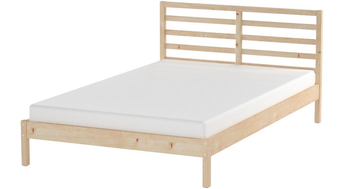IKEA 302.499.47 Tarva - Juego de cama (madera de pino), color marrón