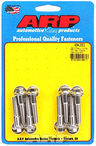 Automotive Racing Products ARP 434-2002 SB Chevy Vortec SS hex intake manifold bolt kit