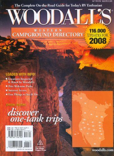 Woodall's Western America Campground Directory, 2008 (Woodall's Campground Directories) ebook