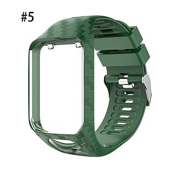 YHLVE Bracelet de Montre pour Tom Tom Spark/3 Sport GPS, Bracelet de Remplacement