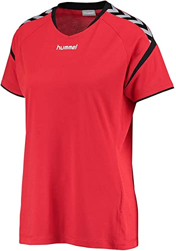 hummel AUTH Charge SS Poly Jersey Donde Camiseta: Amazon.es ...