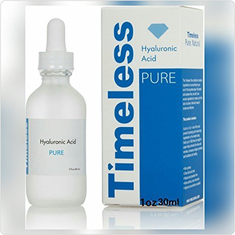 The Best Selling Hyaluronic Acid From Timeless 1fl Oz 30 Ml. Hyaluronic Acid One of the Most Powerful Hydrating and Moisturizing Ingredients on the Market. Holds up to 1000 Times Its Weight in Water!