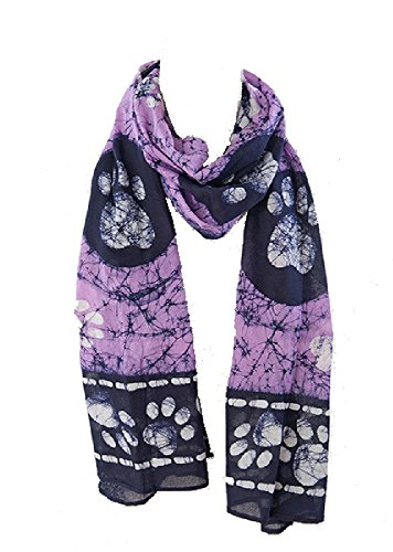 womens-paw-prints-all-over-cotton-batik-scarf-20-x-70-perfect-for-dog-lovers-purple-navy