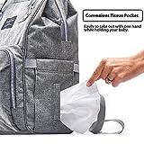 KiddyCare Diaper Bag Backpack, Multi-Function