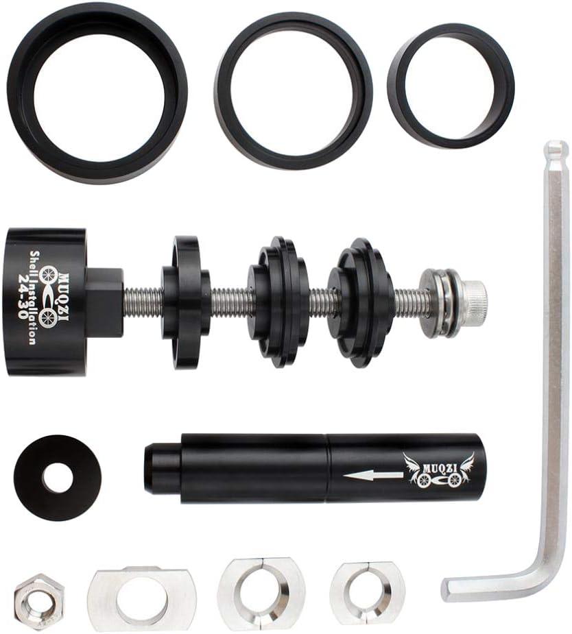 Toygogo Montaje y Desmontaje Kit de Herramientas de Bicicleta para Press Fit Bike BB Instalar y Quitar Cojinete 6805 6806 / Press-Fit BB R92 / T86 / R30