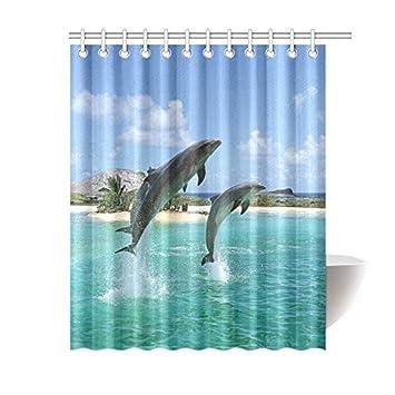 interestprint Cherry Blossom Decor Vorhang für die Dusche, Kirsche ...