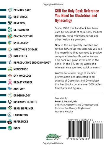Obstetrics, Gynecology and Infertility (Pocket Size): Handbook for Clinicians. (Gordon, Obstetrics,  - http://medicalbooks.filipinodoctors.org