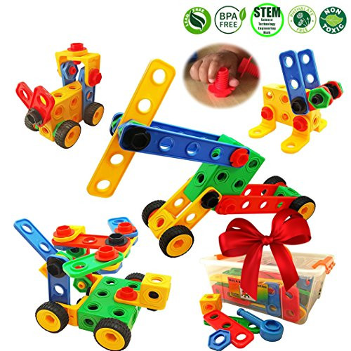 Nuts and Bolts Building Toy for Toddlers