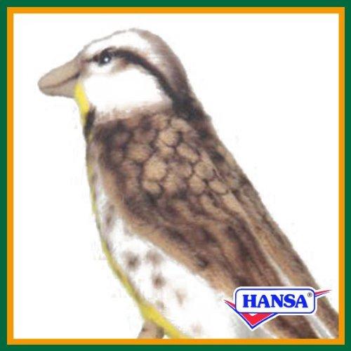 Warbler Plush Bird - 9