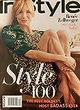 INSTYLE MAGAZINE - DECEMBER 2019 / STYLE 100 ISSUE - RENEE ZELLWEGER