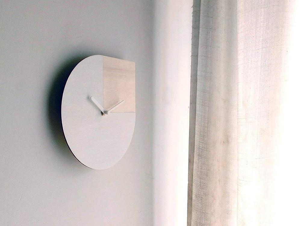 Decorazioni Per La Casa 28cm Piccolo Orologio Da Parete Silenzioso Ispirato Alla Frase Di Andy Warhol Personalizzabile Come Bianco E Rosso Rubino Particolari Orologi A Muro Per Camera Da Letto Design Elegante