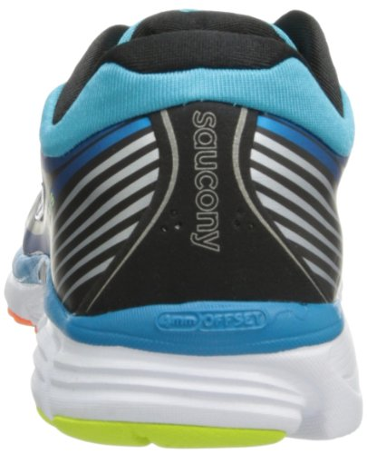 Saucony Mens Kinvara 5 Running Shoe,Blue/Black/Citron,14 M US
