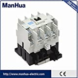 Manhua New and Original 220V 40A electric magnetic AC contactors S-N25 for Mitsubishi ac contactor type