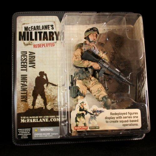 ARMY DESERT INFANTRY * CAUCASIAN VARIATION * McFarlane's Mil