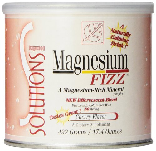 Baywood Magnesium Fizz Cherry, 17.4000-Ounce