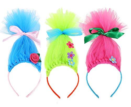 Tutu Dreams Princess Poppy Headband for Kids (3 pcs Set)]()