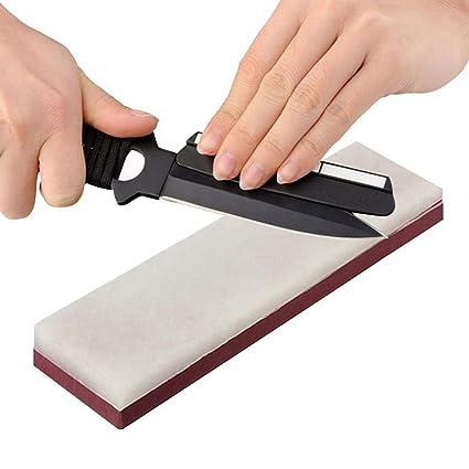 Amazon.com: arena cortador de piedra de afilador Whetstone ...