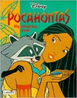 Pocahontas Big Colouring Book Disney Classic Films 1995 09 03 Amazon Com Books