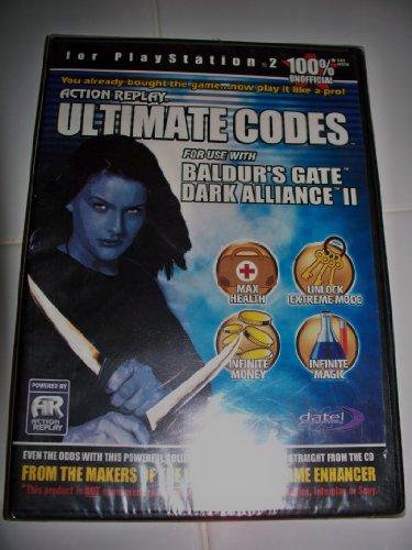Replay Codes Action Cheat (Ultimate Codes: Baldur's Gate Dark Alliance I & II: PS2)