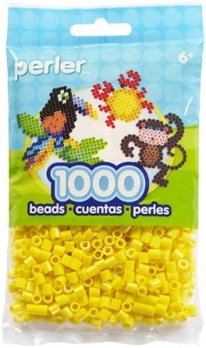 1,000 Perler Beads Yellow