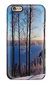 Fashion Tpu Case For Iphone 6- Lake Fryken Trees Winter Cold Varmland Nature Other Defender Case Cover