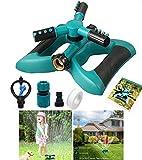 Cybbo Sprinkler Kids to Garden Hose Backyard Fun, Splash All Summer Long, Waterpark Fun Summer Outdoor Water Game Toys Accessories - Best Boys & Girls Adults