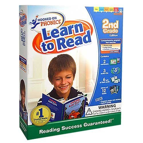 Hooked on Phonics Learn to Read 2nd Grade Edition JMG PASSION LAZER