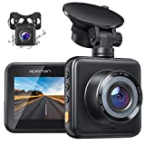 APEMAN Dual Dash Cam for Cars Front and Rear with