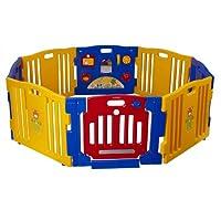 Baby Diego Cub'Zone Centro de actividades y parque infantil, amarillo /azul /rojo