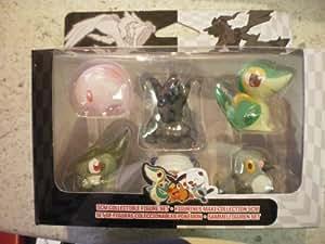POKEMON SET P3 Figuras coleccionables 5 cm. Roggenrola, Reshiram Overdrive, Panpour, Trubbish, Scraggy, Watchdog