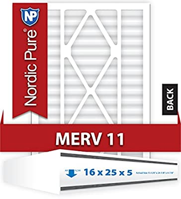 Nordic Pure 16x25x5ABM11-1 Merv 11 Air Bear Replacement