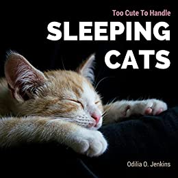 Too Cute To Handle Sleeping Cats A Heart Warming Photo Book For Cat Lovers With Beautiful Quotes Adorable Pictures Of Feline Friends Cats And