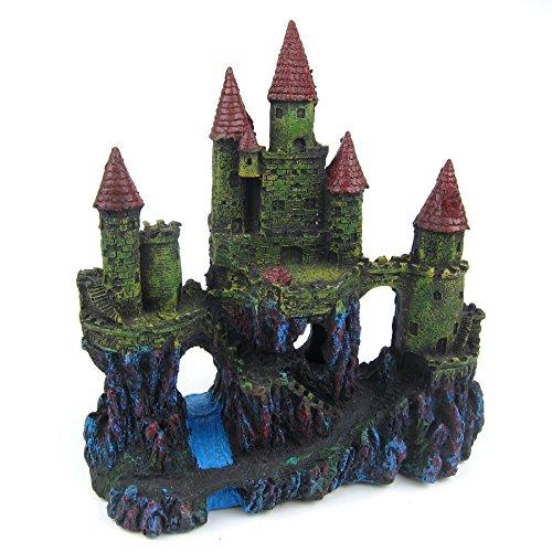 Alfie Pet by Petoga Couture - Samuel Aquascaping Medieval Castle Ornament