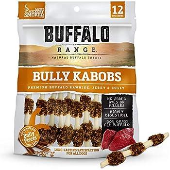 Amazon.com : Buffalo Range Rawhide Dog Treats   Healthy