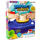 Pottery Wheel Craft Toy Kids Hobby Learning Ceramic Making Kit Clay Paint Art