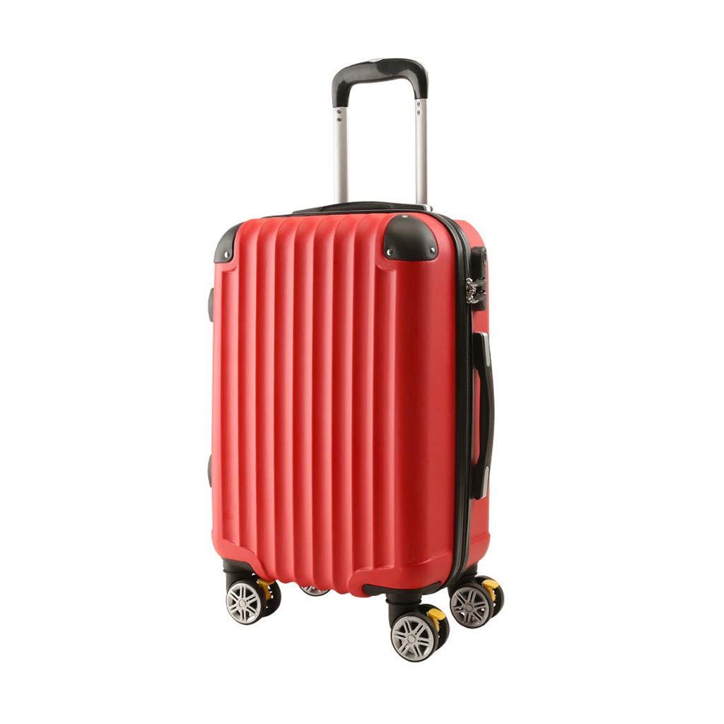 ZB 手荷物キャビンバッグトロリーABSハードシェルトラベルトロリー荷物のスーツケース4つのホイールホルダーケース - 360回転ホイール - 20/24インチ A+ (サイズ さいず : 42x25x64cm)   B07K159KH7