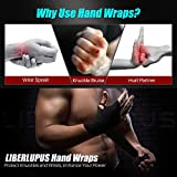 Liberlupus Boxing Hand Wraps for Men