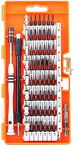 Gaoominy スクリュードライバーセット、S2スチール60in1、56ドライバービット、精密磁気ドライブキット、、コンピューターおよびその他の電子機器用の専門修理キット