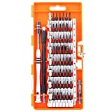 Toogoo Screwdriver t, S2 steel 60 in 1 with 56 screwdriver bits, precision magnetic drive kit, professional repair kit for iPhone, computer and other electronic equipment