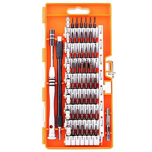 Toogoo Screwdriver t, S2 steel 60 in 1 with 56 screwdriver b