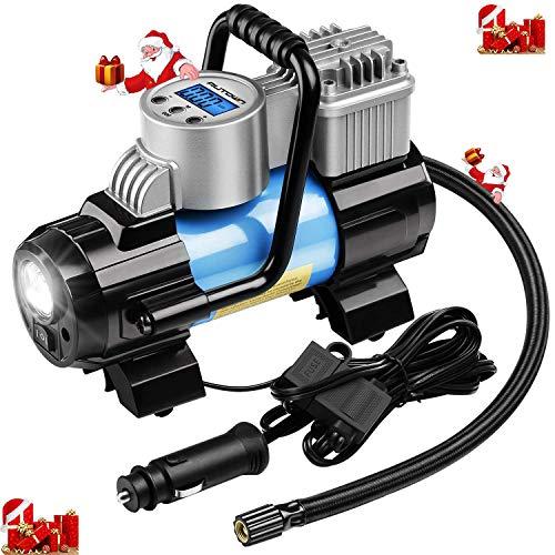 AUTOWN Portable Air Compressor Pump Digital Tire Inflator Ga