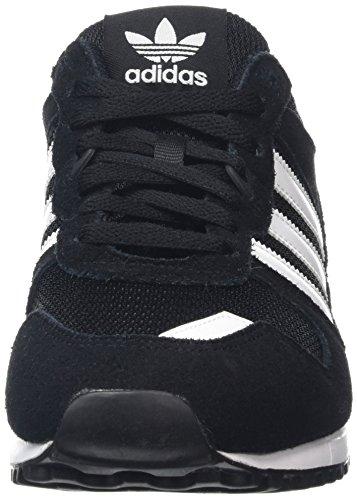 adidas Zx 700, Zapatillas de Deporte para Hombre Negro (Negbas / Ftwbla / Negbas)