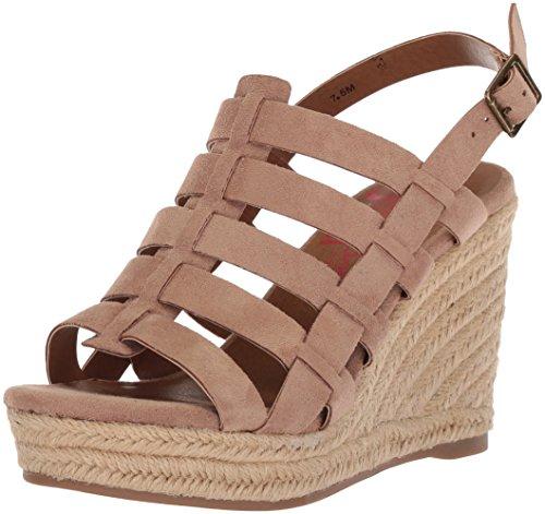 upc 885044692172 product image for Jellypop Women's Caribbean Wedge Sandal, Sand, 7.5 Medium US