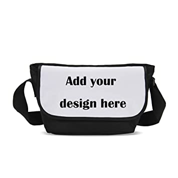Amazoncom Classic Messenger Bag Personalised Commute Bag