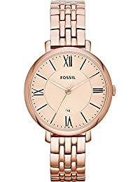 Women's ES3435 Jacqueline Rose Gold-Tone Stainless Steel Watch