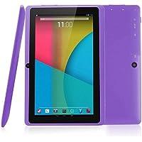 likeitwell 7 Pulgadas Tablet PC, Android 4,4 Allwinner A33 Quad Core, Tablet PC phablet con Doble cámara + 3000mAh batería + con función WiFi, 512 MB + 4 g de Almacenamiento de Disco Duro